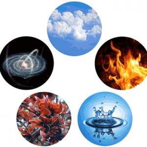5 стихий земля вода огонь воздух